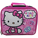 Hello Kitty Girl's Insulated Lunchbox Lunch Kit