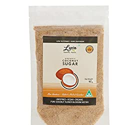 Lyva Naturally Organic Coconut Sugar - 100 gm, Imported Premium Quality, Freshly Packed