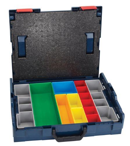 Bosch LBOXX-1A Carrying Case with Insert Set, 13 Piece
