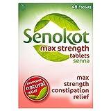 6 x Senokot Max Strength Tablets Senna 48 Tablets