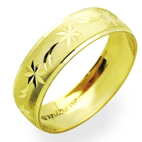 discount deals 14k yellow gold wedding bands for 6mm