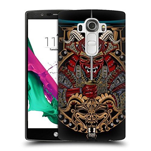 Head Case Designs Shogun Maschera Di Diavolo Giapponese Cover Retro Rigida per LG G4 / H815 / H810