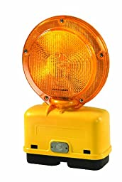 Checkers Economy BC6.AC.D4 Polycarbonate 6 Volt Barricade Lights, Type A/C, Two-Sided Visibility, 7.25\