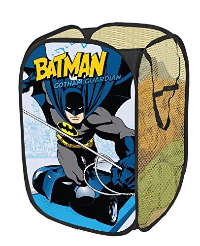 Warner Brothers Batman Collapsible Pop Up Hamper at Gotham City Store