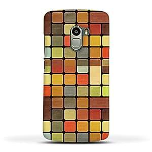 FUNKYLICIOUS Lenevo K4 Note Back Cover Pattern Box Design (Multicolour)