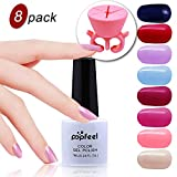 VALUE MAKERS® UV LED Aufloesbarer Farblack Gel Nagellack...