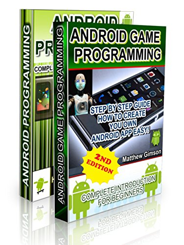 Android Programming BOX SET: ANDROID PROGRAMMING and ANDROID GAME PROGRAMMING - 2 Books in 1 (Second Edition) (Game Development For Dummies compare prices)