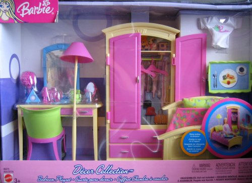 Barbie Decor Collection Bedroom Playset (2003)