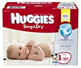 Huggies Snug and Dry Diapers, Size 1, 100 Count