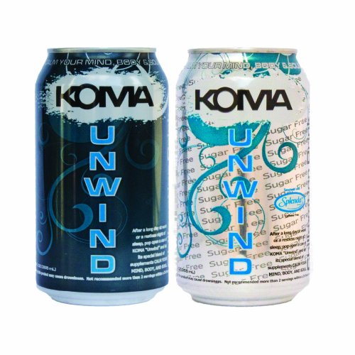 KOMA UNWIND Relaxation Drink Sugar Free (6 pack) 