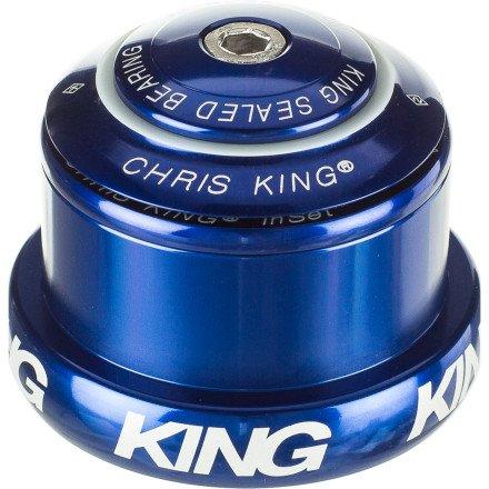 "Chris King Inset 3 Headset 1-1 /8-1.5"" Tapered Head & Steer Tube Navy"