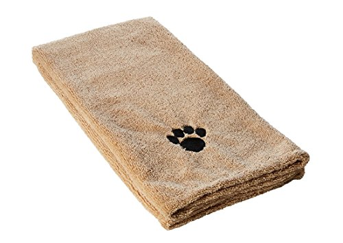 Kole KI-OF443 Super Absorbent Dog Drying TOWEL, Large