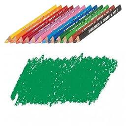 JOLLY X-BIG Delta Colored Pencil, Dark Green, Three 12-Packs = 36 pcs. 3399-0013