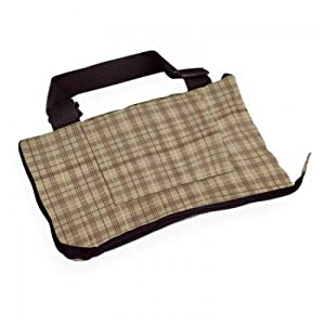 Classic Accessories Fairway Golf Cart Seat Blanket, Plaid/Grey