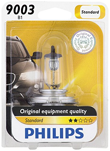Philips 9003 Standard Halogen Replacement Headlight Bulb, 1 Pack (Honda Civic 2000 Lx Glasses Seal compare prices)