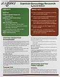 Scottish Genealogy Research (Genealogy at a Glance) (0806318732) by David Dobson