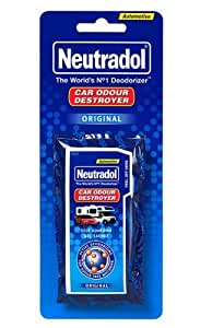 Neutradol Car Air Freshener Original Car Odour Destroyer Original Blue AD12MS
