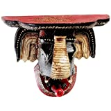 Aapno Rajasthan Elephant Head Wall Mount With Hook