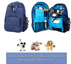 okkatots travel baby depot diaper bag backpack bonus cloud. Black Bedroom Furniture Sets. Home Design Ideas