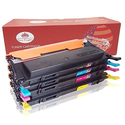 Toner Kingdom 4 Pack Kompatibel CLT-406S Tonerpatronen für...