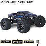 24GHz-112-Ferngesteuerte-Autos-RC-Monstertruck-bis-zu-50kmh-schnell-und-100-Meter-Reichweite-96V-800mAh-Akkupack-Blue