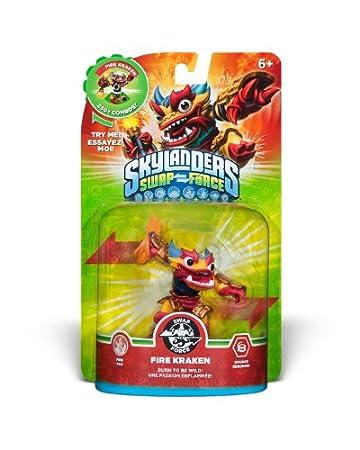 Skylanders SWAP Force Fire Kraken Character (SWAP-able)