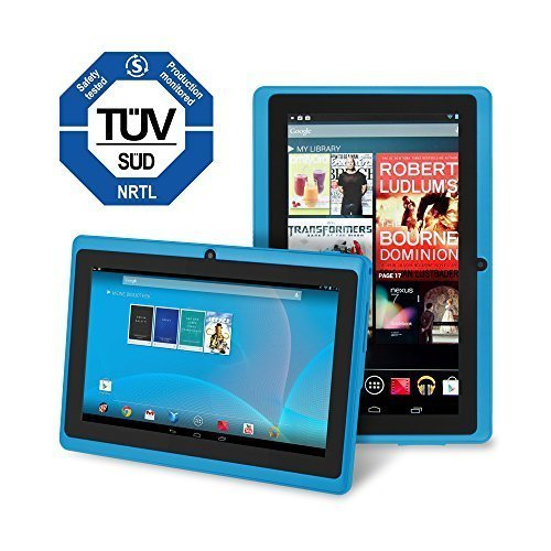 Chromo Inc CI2542 7-Inch 4GB Touchscreen Android Tablet - Updated with TUV importance certification (Blue)