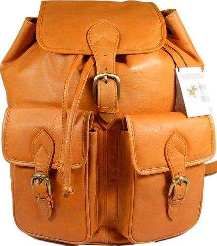 New large Visconti unisex sand soft leather rucksack backpack bag 1699