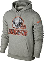 Nike Cleveland Browns Fly Over Camo Logo Men's Pullover Hoodie