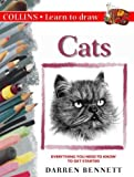 img - for Collins Learn to Draw - Cats by Darren Bennett (1999-01-04) book / textbook / text book