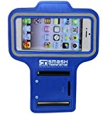 Smash Terminator Sports Running Jogging Gym Armband Arm Band Case Cover Holder For iPhone 5 5S 5C by AllThingsAccessory® (iPhone 5 ,blue)
