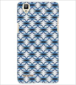 PrintDhaba Pattern D-5459 Back Case Cover for OPPO F1 (Multi-Coloured)
