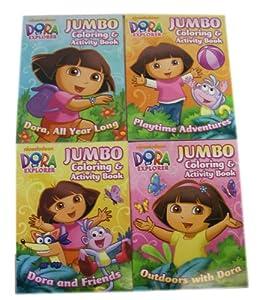 Amazon Com Nickelodeon Jumbo Assorted Dora The Explorer