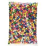 Dubble Bubble Mini-Gum Balls 2 Pounds + Bonus Mystery Stickers Surprise