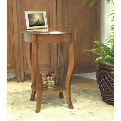 Cheap Carolina Cottage 1825-NC Radner End Table, Chestnut (1825-NC)