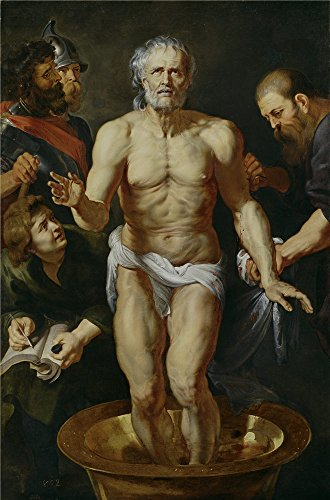 Oil Painting 'Rubens Peter Paul (Workshop) La Muerte De Seneca 1612 15', 20 x 30 inch / 51 x 77 cm , on High Definition HD canvas prints is for Gifts And Bar, Kids Room And Study Room Decoration, fine (West End Griddle compare prices)