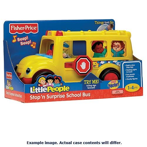 Little People Little Movers Figure Vehicles Case (Fisher Price Pull Along Dog compare prices)