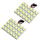 【断トツ144発!!】 MK21S パレットSW LED ルームランプ 2点セット [H20.1~H25.2] スズキ 基板タイプ 圧倒的な発光数 3chip SMD LED 仕様 室内灯 カー用品 HJO