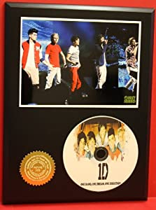 One Direction Limited Edition Picture Disc CD Rare Collectible Music Display ***FREE USA PRIORITY SHIPPING*** by Gold Record Outlet