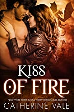 Kiss Of Fire (BBW Dragon Shifter Paranormal Romance)