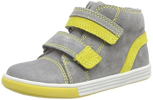 Richter KinderschuheSing - Sneaker per neonati Bimbo 0-24 , Grigio (Grau (rock/pineapple  6101)), 22
