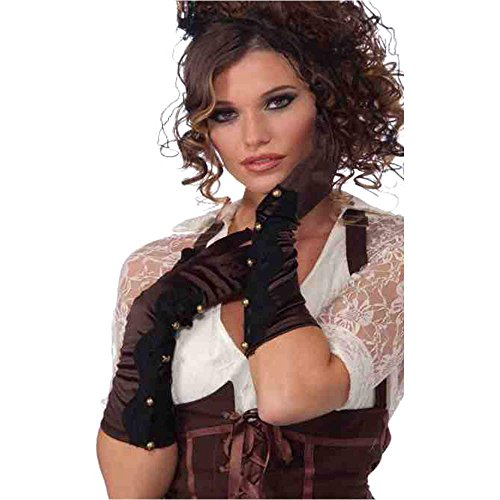 Steampunk Scalloped Gloves - One Size