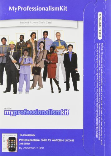 MyProfessionalismKit -- Standalone Access Card -- for Professionalism: Skills for Workplace Success (2nd Edition)