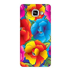 Delighted Flower Art Print Back Case Cover for Galaxy A5 2016