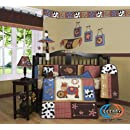 Boutique Horse Western Cowboy 13pcs Crib Bedding Set