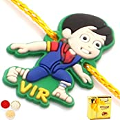 Kids Rakhi -Vir The Robot Boy Rakhi With Chocolate Box