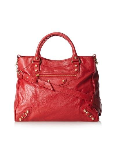 Balenciaga Women's Giant 12 Velo Bag, Cardinal Red