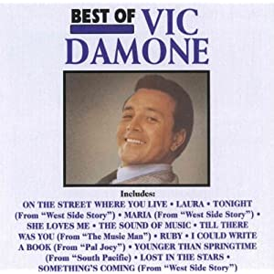 Vic Damone -  The Best of Vic Damone - Live