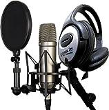 Rode NT1-A Set Kondensator Mikrofon + Keepdrum Kopfhörer Gratis!
