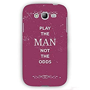 EYP SUITS Quotes Back Cover Case for Samsung Galaxy S3 Neo GT-I9300